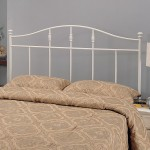 Iron Beds and Headboards Twin Cottage White Metal Headboard