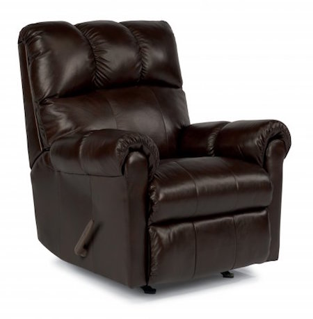 McGee Flexsteel Leather Recliner