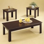 3 Piece Parquet Occasional Table Set