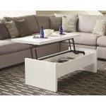 Modern Glossy Lift Top Coffee Table