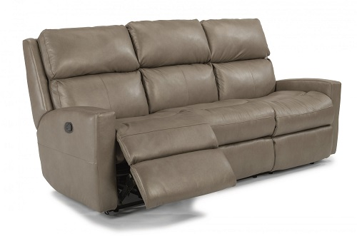 Catalina Leather Flexsteel Sofa