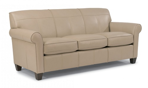 Dana Leather Flexsteel Sofa