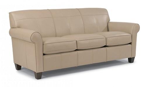 Dana Leather Flexsteel Sofa
