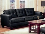 Samuel #501681 Black Sofa
