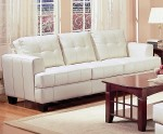 Samuel #501691 Cream Sofa