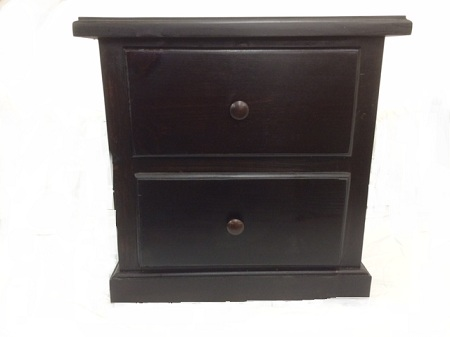 2 Drawer Promo Nightstand Cappuccino
